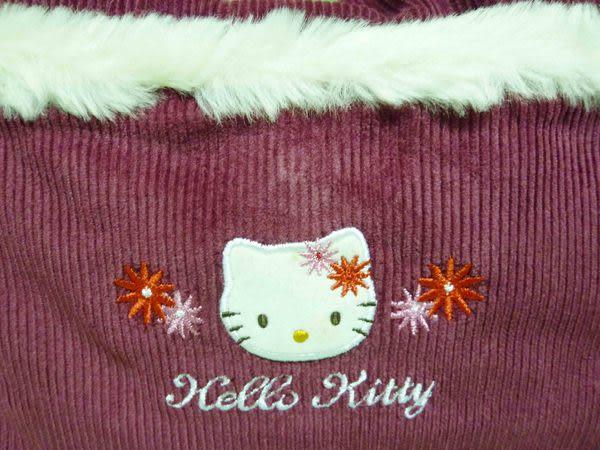 【震撼精品百貨】Hello Kitty 凱蒂貓~可調整帶長淑女肩背包『咖啡/深紅』(共兩色)