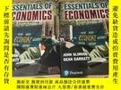 二手書博民逛書店Essentials罕見of Economics 經濟學基礎 第8版 英語 原 版 作者 John Sloman