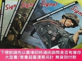 二手書博民逛書店二戰德國信號雜誌精選圖集罕見  Signal Dokumentation 1940 - 1945Y281554