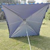618好康又一發長方形大傘店面斜傘戶外沙灘傘帳篷傘雨傘