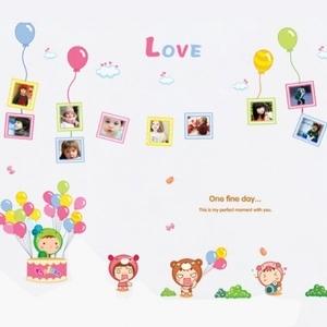 創意無痕壁貼 兒童照片牆