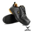 PAMAX 帕瑪斯【運動休閒型頂級氣墊止滑安全鞋】皮革製-反光設計-PS01702FEH男