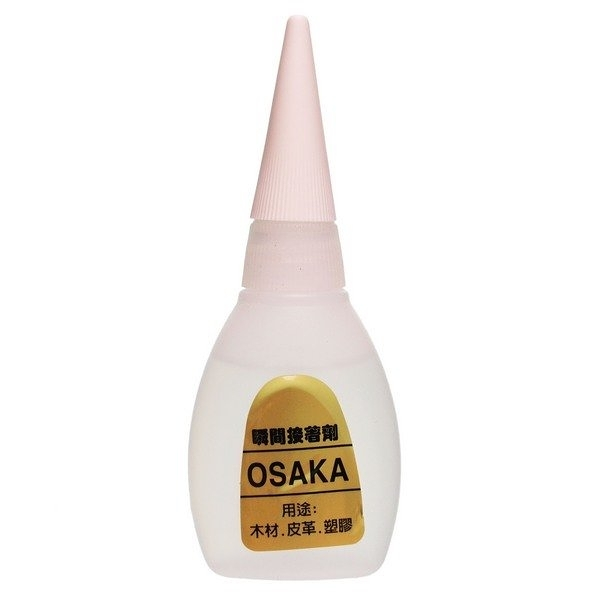 OSAKA 瞬間接著劑 20g (金標)/一小瓶(定80) 三秒膠 快乾 瞬間膠 瞬間接著劑-景