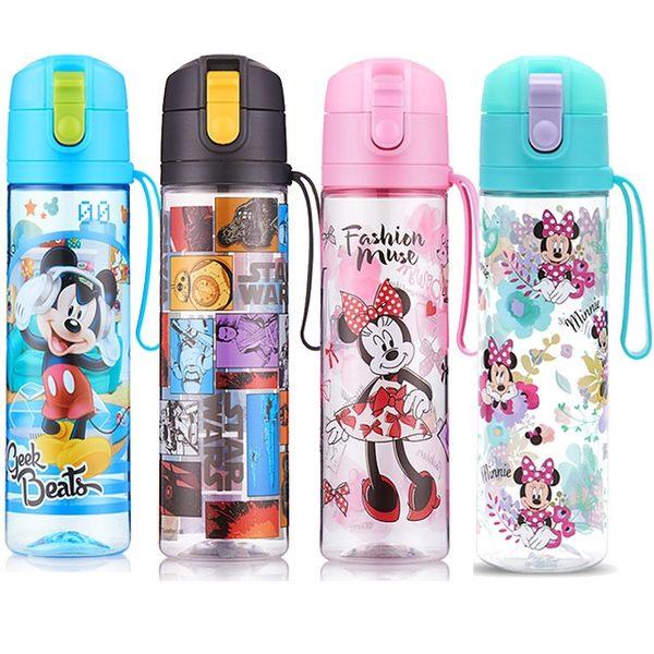 STAR BABY-三麗鷗美樂蒂 迪士尼米奇米妮 星際大戰 兒童水壺 冷水瓶 直飲水壺 500ml