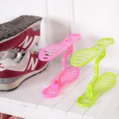迷你雙層收納鞋架 整理鞋架 日式鞋櫃 收納架 鞋架 雙層鞋撐 鞋收納 【RS404】