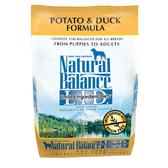 【寵物王國】Natural Balance-NB低敏無穀馬鈴薯鴨肉全犬配方4.5磅【中大型犬】