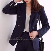 依Baby 西裝套裝 韓版時尚氣質職業裝休閒小西服外套