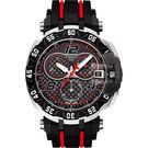 全球限量8888只 TISSOT 天梭 T-Race MotoGP 2016 限量賽車計時手錶-黑/45mm T0924172720700