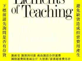二手書博民逛書店The罕見Elements Of TeachingY256260 James M. Banner Jr. Ya