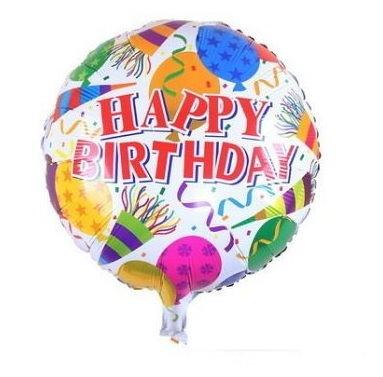 happy birthday(F15)18吋鋁箔氣球(未充氣)~~求婚道具/婚禮 生日 耶誕節 尾牙佈置