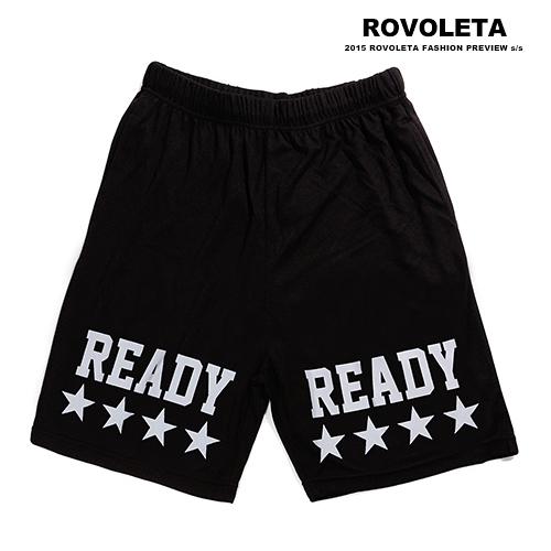 READY運動短褲【SB-G2541】(ROVOLETA)
