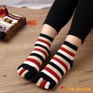 5雙裝 五指襪女純棉五趾襪透氣短筒女襪【小獅子】