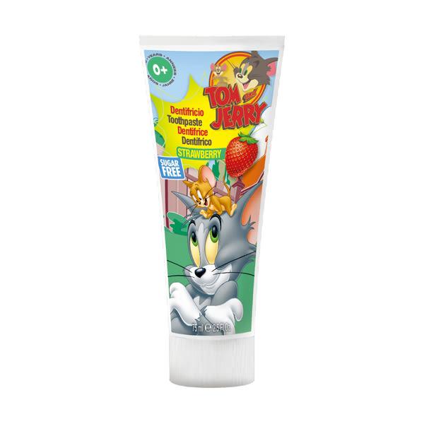 【義大利原裝進口】Tom & Jerry 含氟牙膏 (草莓)75ml