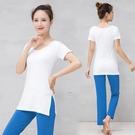 瑜珈服 瑜伽服專業運動套裝女新款莫代爾初學者瑜珈健身房運動服 16【618特惠】