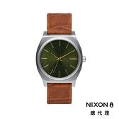 【官方旗艦店】NIXON TIME TELLER 新復古小錶款 綠 潮人裝備 潮人態度 禮物首選