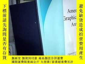 二手書博民逛書店American罕見Graphic Design Annual: