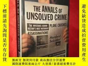 二手書博民逛書店The罕見Annals of Unsolved Crime (硬