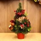 聖誕擺件迷妳聖誕樹桌面高檔聖誕節裝飾【聚寶屋】