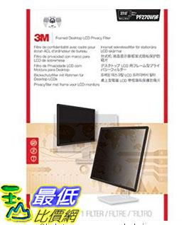 [美國直購] 3M PF270W9F 螢幕防窺片 Privacy Screen Protectors Filter for 27.0 Widescreen - 16:9 ,353 mm x 614 mm