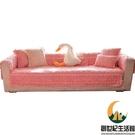 玫瑰絨毛絨坐墊加厚沙發套罩沙發墊冬防滑【創世紀生活館】