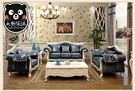 【大熊傢俱】A-NINEONE  1+2+3 歐式布沙發 法式 皮沙發 形象椅 古典家具 歐式沙發 法式 美式 鄉村