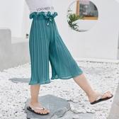 防蚊褲-女童風琴褲夏洋氣寶寶褲子休閒防蚊褲外穿 提拉米蘇