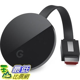 [網購退回裸裝品] 一年保固 Google Chromecast Ultra 4K UHD HDR 電視棒 串流播放