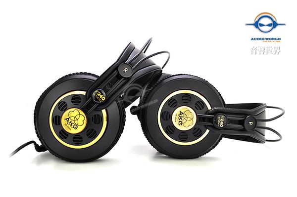 快速出貨【音響世界】。暑期特惠。AKG K240 Studio超經典專業監聽耳機。