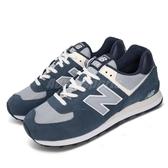 New Balance 休閒鞋 NB 574 藍 白 男鞋 女鞋 復古慢跑鞋 運動鞋 【ACS】 ML574SPID