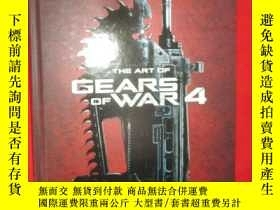 全新書博民逛書店TheArt of Gears of War 4 (硬精裝) 【