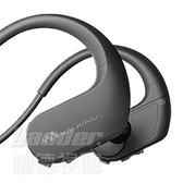 預購【曜德 買一送三】SONY NW-WS413 黑 4GB 防水極限運動數位隨身聽 / 送收納盒+耳塞+絨布袋