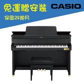 CASIO原廠直營門市 Grand Hybrid 類平台鋼琴限定款GP-400黑色(含安裝/耳機)
