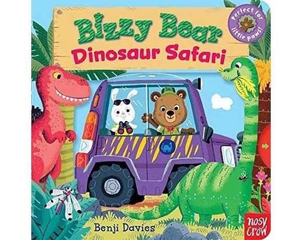 Bizzy Bear:Dinosaur Safari 恐龍樂園熊熊新奇操作書(美國版)