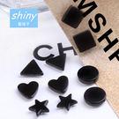 【30A32】shiny藍格子-時尚氣質...