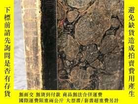 二手書博民逛書店1815年罕見NATURAL HISTORY 含8副精美整頁銅板插圖 2 OF 4 半皮裝幀 FAMILIAR D