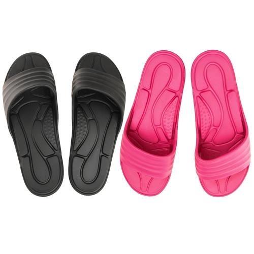 MONZU, 浴室拖鞋/室外拖鞋, EVA零著感一體成型防滑 款(MIT)