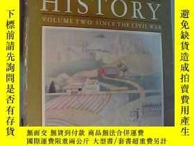 二手書博民逛書店the罕見course of american history2