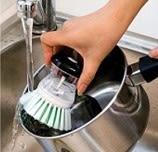[協貿國際]  創意廚房自動加液洗鍋刷/洗碗刷 (5個價)