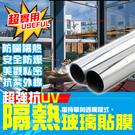 【H01000】抗UV隔熱玻璃貼 單向透...