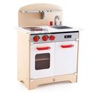 【德國 Hape】精緻木玩 - 多功能木製美食廚房組(白)