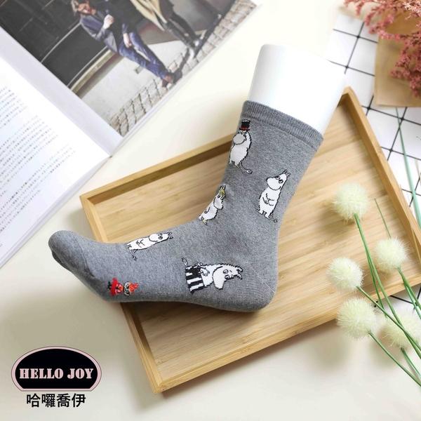 【正韓直送】嚕嚕米中筒襪 韓國襪子 長襪 韓襪 女襪 棉襪 MOOMIN 生日禮物 韓妞必備 哈囉喬伊 L7
