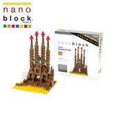 【日本KAWADA河田】Nanoblock迷你積木-未完的聖堂 NBH-005