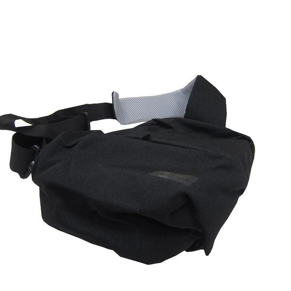 ~雪黛屋~WIND-TOOK 胸前包小容量扁型設計6L超輕防水尼龍布單左肩單右肩背帶護肩透氣HWT6156