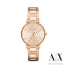 ARMANI Lola優雅魅力不鏽鋼腕錶 AX5552