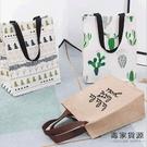 環保帆布袋子手提袋購物袋便當包女便攜防水【毒家貨源】