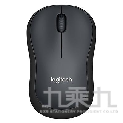 羅技 M221 靜音無線滑鼠-黑