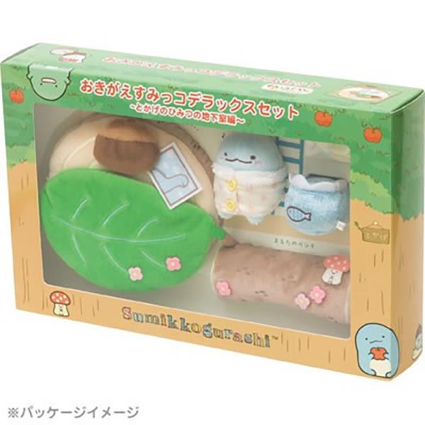 Hamee 免運 日本正版 San-X 角落生物 來去恐龍家 豪華組合 絨毛娃娃 裝飾擺飾 玩偶場景配件 MX36401