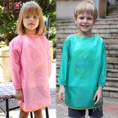 環保款兒童防水畫畫衣大中童圍裙