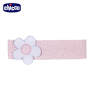 chicco-粉紅花園-滿版立體花朵髮帶