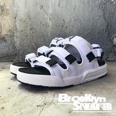 Air Walk  全白 三槓 魔鬼氈 涼鞋 拖鞋 男女 情侶鞋 (布魯克林) 2018/7月 A755230-300